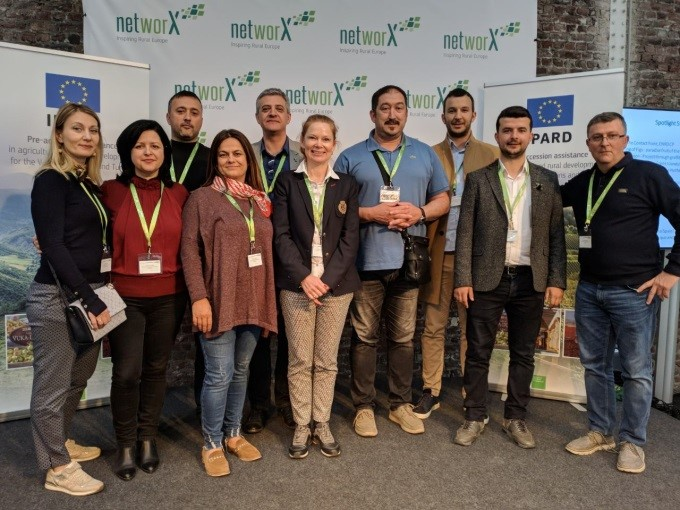 Participation of Balkan Rural Development Network (BRDN) at the networX – Inspiring Rural Europe Conference